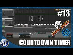 Countdown Timer With Game Over - #13 Unreal Engine 4 Blueprint Creations Tutorial - YouTube