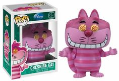 Funko Pop Disney Alice In Wonderland #44 Cheshire Cat Vinyl 3.75 ...