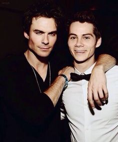 Ian and Dylan in the same picture..I think I have just died and gone to heaven