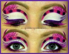 Mad Hatter Makeup for Girls | Alice in Wonderland series: Cheshire cat! :D