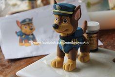 Fondant Dog Cake Toppers Dog Patrol Cake Topper by