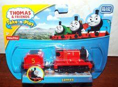 Thomas & Friends Take-n-Play Portable Railway (Die-Cast) JAMES New! #FisherPrice