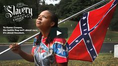 Karen Cooper is a big supporter of the Confederate flag, which she talks about in this clip from the Battle Flag documentary. American Pride, American Civil War, American History, American Soldiers, American Girls, Southern Heritage, Southern Pride, Rebel Yell, Fight For Freedom