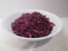 Párolt lilakáposzta készítése - kiváló köret - Háztartás Ma Rabbit Food, Side Dishes, Cabbage, Food And Drink, Vegetarian, Vegetables, Cooking, Kari, Bulgur