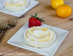 ... Meyer Lemon Tart with a Graham Cracker Crust | Lemon Tarts, White