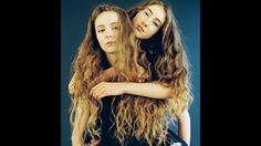 15 and 16. Wrote all their own songs, and played & produced their single. Let's Eat Grandma, transgressive records