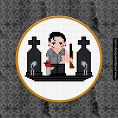 Evil Dead / Army of Darkness - PixelPower - Amazing Cross-Stitch Patterns