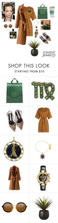 """Untitled #227"" by raspberrylife ❤ liked on Polyvore featuring Tammy & Benjamin, Loquet, Zolà, MSGM, Alex and Ani, Nameless, Versace, CB2, Nest Fragrances and GREEN"