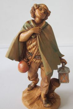 Lot includes David, Seth and Nathan. Fontanini Nativity, Buddha, David, Statue, Ebay, Sculptures, Sculpture