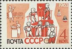 ◇USSR  1963    Children in nursery