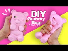 DIY | COVER ORSETTO GOMMOSO GIGANTE - Tutorial! - YouTube