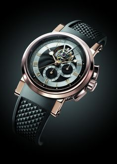 Breguet MARINE 5837 Tourbillon Chronograph watch by Breguet on Presentwatch.com