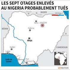 Les sept otages étrangers au Nigeria ont probablement été tués - http://www.andlil.com/les-sept-otages-etrangers-au-nigeria-ont-probablement-ete-tues-98877.html