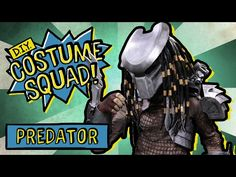 The best DIY projects & DIY ideas and tutorials: sewing, paper craft, DIY. Make Your Own Predator Costume - DIY Costume Squad Video Description Learn how to make a Predator costume from the original 1987 classic! In each episode Predator Costume, Predator Cosplay, Predator Mask, Predator Alien, Alien Cosplay, Airsoft Mask, Erica, Costume Tutorial, Half Face Mask