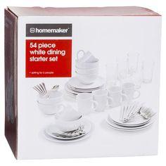 54 Combo Dinner Set Whitehomemaker