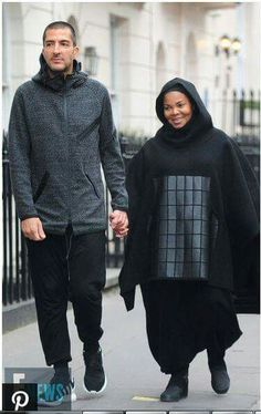 690397e4fa Mom to be Janet Jackson is all smiles with her husband Wissam Al Mana  taking a