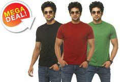 Vita Iniyio T-Shirts (Pack of 3) worth Rs.799 at Rs.399 -Tradus