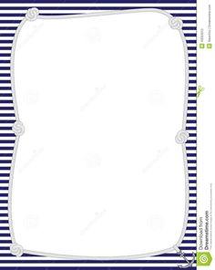 Simple Blue Certificate Border