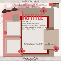 New Template Blog Challenge!   ninigoesdigi's blog