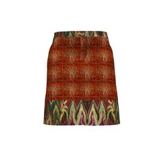 #SAGE BARGELLO COPPER SKIRT by Paysmage & Maryyx