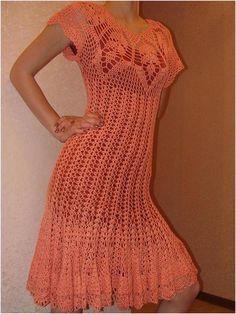 Vexatious Dress free crochet graph pattern