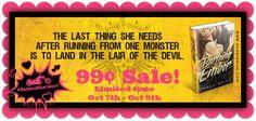 SALE:Burning Ember (Harbingers of Chaos MC, #1) by Darby Briar - #BadassBikerAlert - 99¢ Sale! - iScream Books