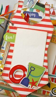 Soak Up the Sun Mini Book - Gogo Girl Scrapbooking