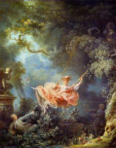 Swing Painting, Rennaissance Art, Renaissance Paintings, Classical Art, Old Art, Aesthetic Art, Oeuvre D'art, Canvas Art Prints, Art History