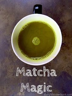 This matcha magic tonic is not only extremely healthy but also delicious. Just 4 ingredients to add a healthy start to your day. Using local honey this match drink is great for allergies too! Yummy Drinks, Healthy Drinks, Healthy Eating, Healthy Low Carb Breakfast, Matcha Tea Powder, Brunch, Acquired Taste, Matcha Green Tea, Dessert