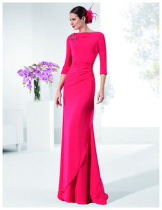 Simple Wedding Dress, Alluring Chiffon Bateau Neckline Floor-length Sheath Mother Of The Bride Dresses With Beadings, Shop fit and flare dresses that match your bridal style featuring the latests trends. Ceremony Dresses, Wedding Party Dresses, Evening Dresses, Prom Dresses, Formal Dresses, Bride Dresses, Groom Dress, The Dress, Occasion Dresses