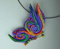 Class: Butterfly Pendant. BUY FROM CraftArtEdu by MysticDreamerArt