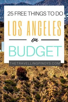 There are plenty of free things to do in Los Angeles that wont break your wallet. So I put together for you the perfect guide to Los Angeles on a budget. Travel Guides, Travel Tips, Travel Hacks, Travel Packing, San Diego, San Francisco, Resorts, Places To Travel, Travel Destinations