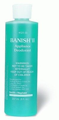Ostomy Appliance Deodorant Banish 8 oz. Pump Bottle 1 Count *NEW - SHIPS FREE!*