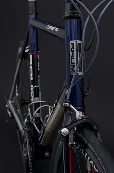 GTB, Deep Crystal Blue, Champagne, Sram Red, Corretto by Baum Cycles, via Flickr