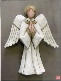 Image result for carved wooden angels