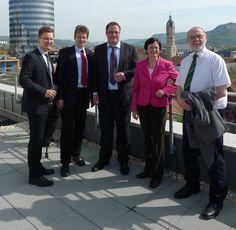 2012 - Besuch der Thüringer Ministerpräsidentin Christine Lieberknecht