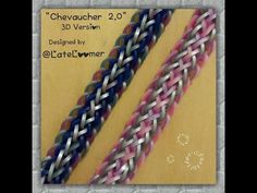 """""""Chevaucher 2.0"""" 3D Version: Hook Only Bracelet/ How To Tutorial - YouTube"""