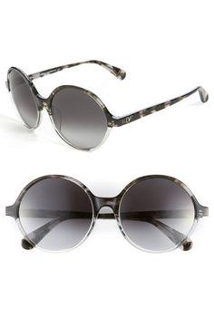 bc0c9d9fa3 Diane von Furstenberg Round Sunglasses