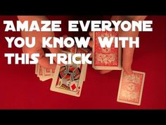 Video below will teach you another interesting card trick. It is easy to perform so it is suitable for beginners (but of course not only to beginners ; Card Tricks For Beginners, Cool Card Tricks, Simple Card Tricks, Magic Tricks Tutorial, Cool Cards, Good Things, Teaching, Blog, Check