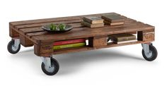 Legion Pallet Table in Natural   made.com