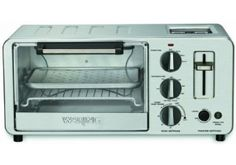 Waring Toaster Oven with Built-In Toaster, Why use a full–size oven when a countertop oven will do? Try the Waring Pro Professional Oven/Toaster – it offers the same quality performance as a traditional oven. This versatile oven/toaster ma. Healthy Snacks For Diabetics, Super Healthy Recipes, Healthy Foods To Eat, Healthy Dinner Recipes, Healthy Cake, Specialty Appliances, Small Appliances, Kitchen Appliances, Kitchen Gadgets