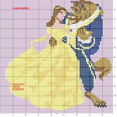 Disney Princesses Cross Stitch Patterns