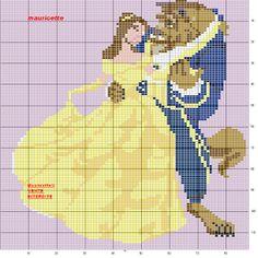 Disney Princesses Cross Stitch Patterns