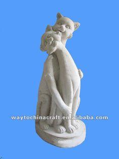 vivid escultórica de piedra estatua de los animales