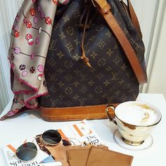 Classy classics #louisvuitton #louisvuittonbag #noe #baglover #baglover #bag #rayban #raybansunglasses #voguemagazine #vogue #magazine #hermeslover  #hermes #hermesscarf #luxurylifestyle #luxury #lifestyle #fashion #style #secondhand #shopping #sales #onlineshopping #fashionlover #authentic #preloved #preowned #newin #newarrivals #ichoosestarbags #starbags_eu Lifestyle Fashion, Luxury Lifestyle, Vogue Magazine, Ray Ban Sunglasses, Louis Vuitton Monogram, New Fashion, Hermes, Ray Bans, Classy