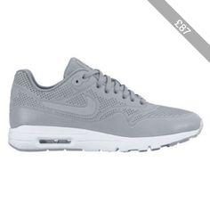 Nike Gray Air Max 1 Sneaker