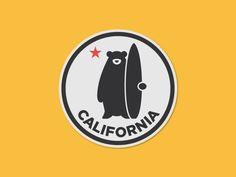 California Bear  by Omar Garcia