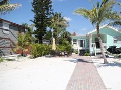 Fort Myers Beach Cottage Rental: Do Nothing, Stay At 'little Palm' Beach Front 3 Bedroom 2 Bath | HomeAway