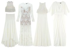 Se billeder af Asos' brudekjoler på budget | Costume.dk