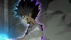 one of the best anime.. mob psycho 100... mob is a strongest psychic but a bit stupid and weak physically...